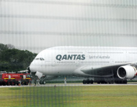 Qantas A380s stay on the ground