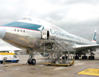 Cathay shows confidence in the Middle East