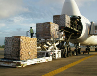 World's largest cargo aircraft delivers to Abu Dhabi
