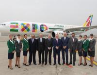 PHOTOS: Expo Milano aircraft delivery