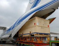 Volga-Dnepr delivers 11-tonne oil pump in Turkmenistan