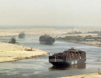 Suez Canal revenues up 6.7% in 2014