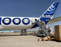 Airbus deploys A350-1000 to supply millions of face masks