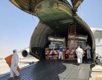 Volga-Dnepr Airlines delivers 48 sterilisation trucks to Dubai