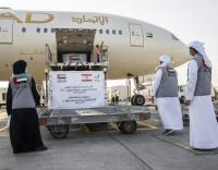 Etihad carries 16 tonnes of UAE aid to rocked city Beirut