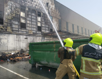 Dubai Duty Free warehouse gutted by fire