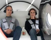 Virgin Hyperloop carries passengers for first time in milestone test