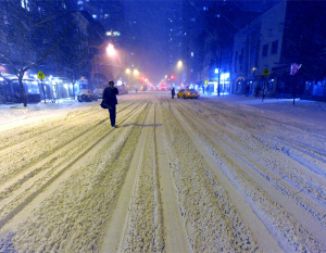 IN PICTURES: Cold weather hits New York