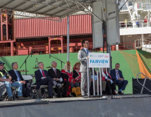DP World launches newly expanded Fairview Container Terminal