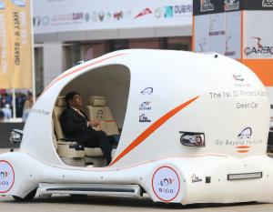 BIG PICTURE: UAE's first 3D-printed car at GITEX