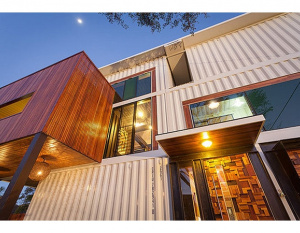 PHOTOS: The shipping container mansion in Australia