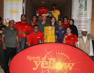 DHL delivers thousands of kilos in food donations