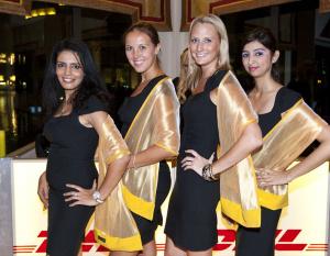 PHOTOS: DHL hosts spectacular Dubai Fountain light show