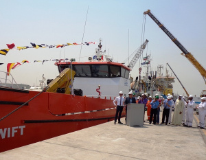 First Damen Fast Crew Supplier delivered to Middle East