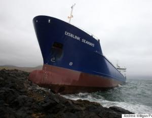 BIG PICTURE: Rum drunk sailor crashes ship into coast