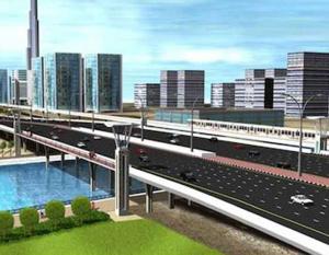 RTA releases new image of Dubai Canal bridge on SZR
