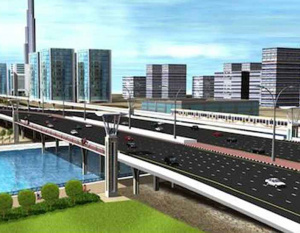 Dubai Canal project bypass underway
