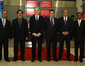 Emirates' St Petersburg launch marked in style