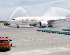Emirates SkyCargo, Cargolux fly first service in tie-up