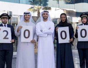 THE BIG PICTURE: Etihad Airways welcomes 2000th Emirati