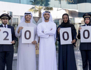 THE BIG PICTURE: Etihad Airways welcomes 2000th Emirati