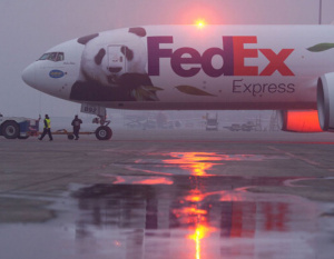 PHOTOS: FedEx takes-off on panda transportation mission