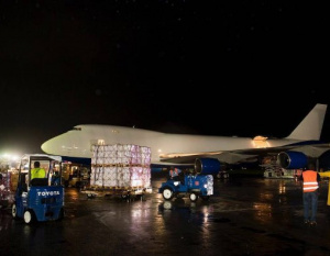 BIG PICTURE: Dubai ruler delivers Haiti aid on own 747