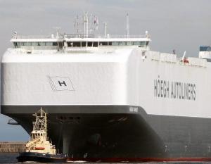 BIG PIC: World's largest car carrier calls in Jordan