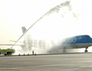 PHOTOS: Martinair launches operations at DWC