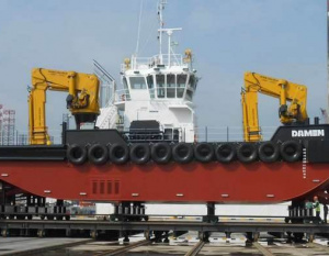 Damen Shipyards Sharjah delivers new Multi Cat 3013