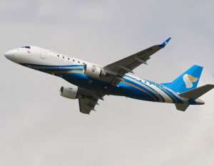 IN PICS: Oman Air unveils latest Embraer 175