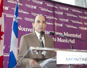 PHOTOS: Qatar Airways inaugural flight to Canada