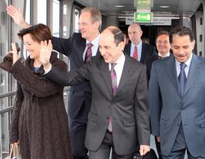 IN PICS: Qatar Airways Inaugural Stuttgart Flight