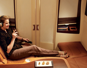 IN PICTURES: Best premium airline seats