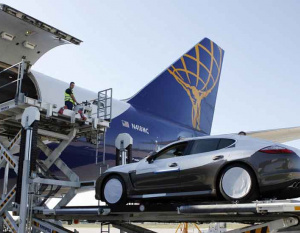 Arab-owned supercars flown to London on cargo jets