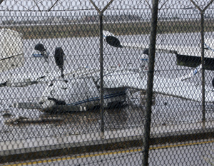 Storm destroys planes at Beirut airport