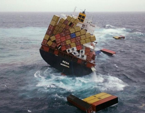 Over 1,600 shipping containers lost at sea every year