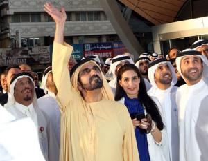 PHOTOS: HH Sheikh Mohammed opens Dubai Metro green line