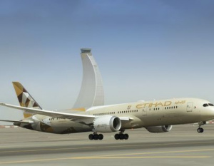 Etihad plane sent to military base over security threat