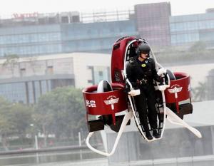 Dubai to use flying firemen to fight sky scraper fires