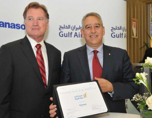 IN PICTURES: Gulf Air at Paris Air Show 2011