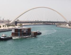 CASE STUDY: Dubai Properties' floating villas in Dubai Canal