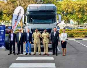 Dubai Police clamps down on safety with MAN Trucks
