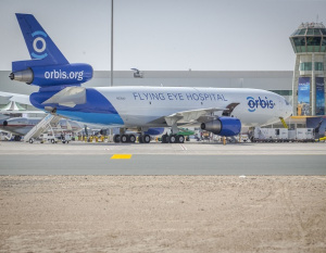 FedEx takes eye hospital to the skies at Dubai Airshow