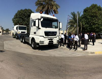 Dubai Police and MAN Truck & Bus team up on road safety