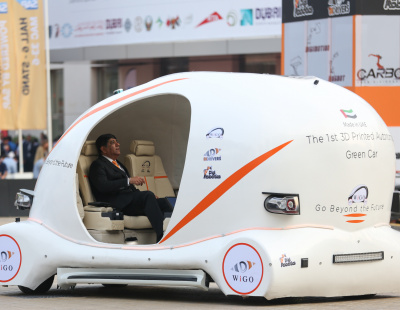 BIG PICTURE: UAE's first 3D-printed car at GITEX