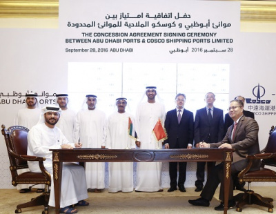 COSCO signs agreement to double Port Khalifa capacity