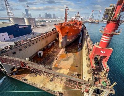 Abu Dhabi Ship Building expands customer portfolio