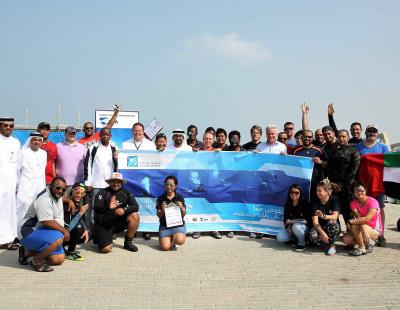 Abu Dhabi Terminals oversee underwater clean-up