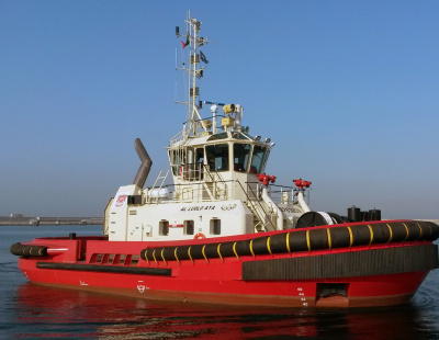 Damen delivers ASD tug to Sharjah Ports Authority